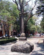 Atrial cross, parish of San Sebastián Mártir