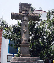 The atrial cross at Tlacoquemécatl (rear view)