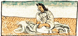 Pic 10: Mexica noblewoman, Florentine Codex Book 10
