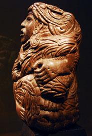 Pic 5: Quetzalcoatl sculpture, Museum of the Louvre, Paris