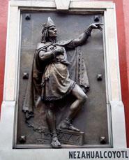 Pic 7: Statue of Nezahualcoyotl, Mexico City