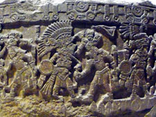 Pic 13: Stone of Tizoc, National Museum of Anthropology in Mexico City