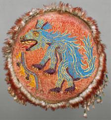 Pic 16: Shield. Museum of Ethnology (Museum für Völkerkunde), Vienna, Austria