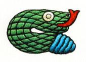 Aztec Daysign no. 5: Snake