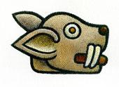 Aztec Daysign no. 8: Rabbit