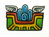 Aztec Daysign no. 9: Water