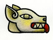 Aztec Daysign no. 10: Dog