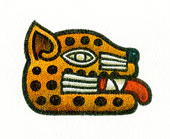 Aztec Daysign no. 14: Jaguar