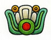 Aztec Daysign no. 20: Flower
