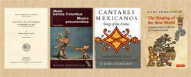 Pic 2: 4 more books in English to consult for serious study of Aztec music