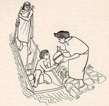 Pic 4: Aztec boy wearing a plain loin-cloth
