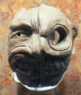Pic 10: Tlatilco life-death mask