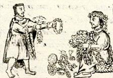 Garlanding with flowers: Florentine Codex Book 11