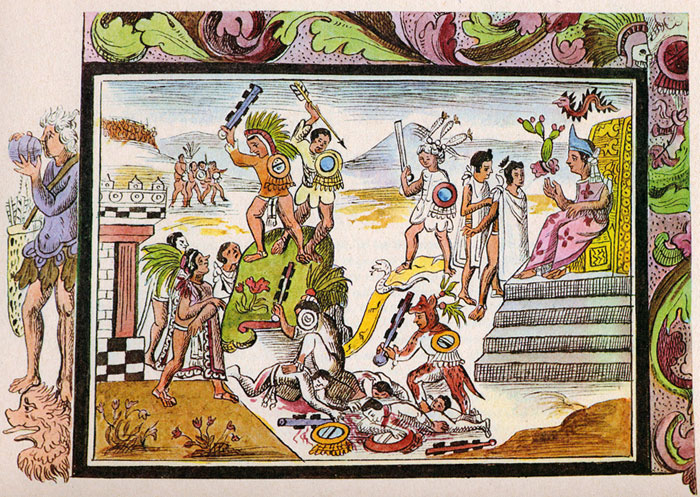 the religion and military of the mayan empire