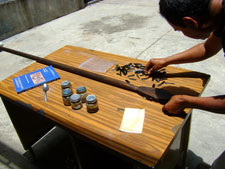 Fig. 10: Reconstrucción de una teputzopilli mexica