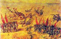 Pic 9: Cortés burns his boats