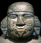 Pic 5: Coyolxauhqui head, National Anthropology Museum, Mexico City
