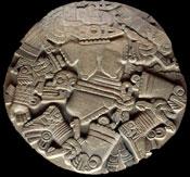 Pic 6: Coyolxauhqui stone, Templo Mayor Museum, Mexico City