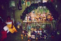 Pic 9: A Nahua altar.