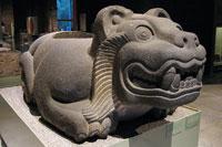 Pic 8: Jaguar 'cuauhxicalli' sacrificial vessel, National Museum of Anthropology, Mexico City