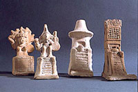 Pic 12: Aztec household shrine ceramic figurines