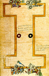 Pic 8: Ballcourt, Codex Borbonicus