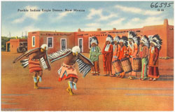 Pic 4: Pueblo Indian Eagle Dance, New Mexico