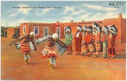 Pic 4: Pueblo Indian Eagle Dance, New Mexico
