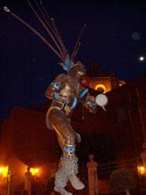 Pic 14: Monument to the 'Concheros', Querétaro City