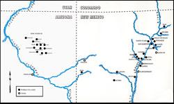 Pic 12: Map of Pueblo villages