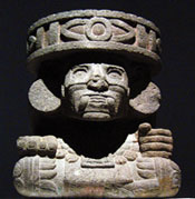 The oldest god of all? Huehueteotl, the old fire god