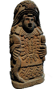 Cihuacóatl (Snake Woman), one of the most important Aztec goddesses; also known as Our Mother, she represents the creative power of the Earth