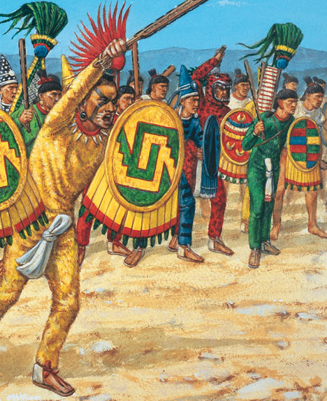 aztecs vs the spanish 10 most-asked questions about the aztecs 1 who were the aztecs representing the 1521 fall of tenochtitlan, in the spanish conquest of the aztec empire.