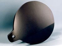Pic 2: Obsidian mirrors were associated by the Aztecs with the great god of fate, Tezcatlipoca