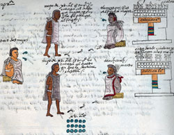 Pic 3: At 15, Aztec youngsters had a 'choice' of two types of school...