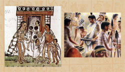 Pic 6: The Aztec 'telpochcalli' was like the local comprehensive...