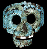 Pic 2: Turquoise mosaic serpent mask of Tlaloc, British Museum