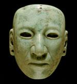 Pic 4: Small jadeite mask, 11.4 cm., Museum für Volkerkunde, Basel