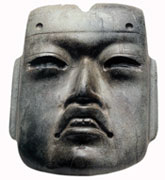 Pic 15: Olmec mask, from offering no. 20 at the Templo Mayor