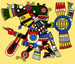 Pic 7: Tezcatlipoca, god of fate