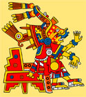 Pic 13: Xochiquetzal, goddess of beauty, fertility and human desire