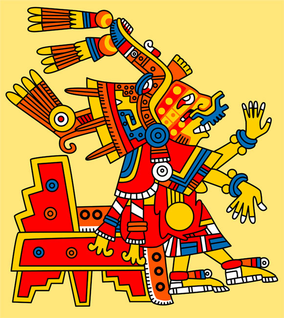 Pic 13  Xochiquetzal  goddess of beauty  fertility and human desire    Xochiquetzal Aztec God