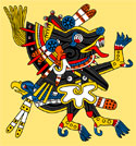 Pic 14: Xolotl, god of fire and of bad luck