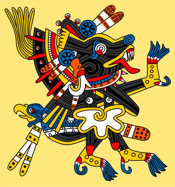Aztec Gods Symbols Clip Art 1 Clip Art Vector Site