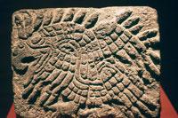 Pic 13: Aztec eagle sculpture. Museo Nacional de Antropología, Mexico City