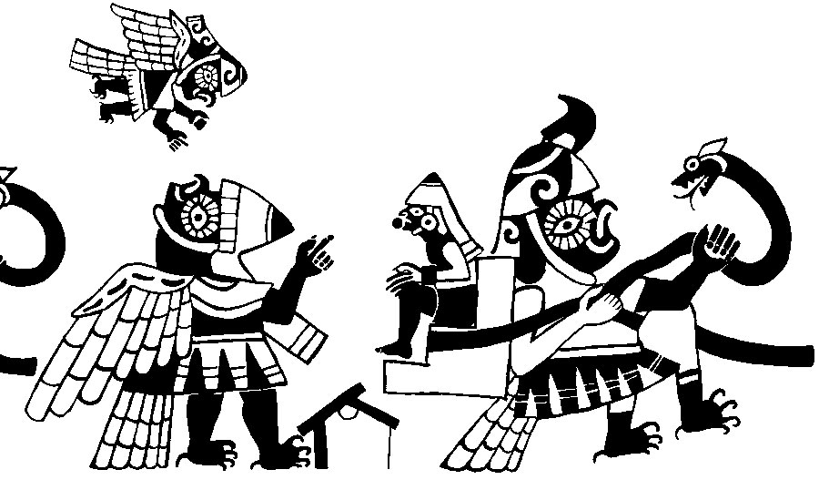 Quetzal Mayan Symbol Pic 18 Moche anthropomorphic