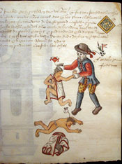 Pic 15: Spanish cruelty to indigenous Mexicans. Codex Kingsborough. British Museum