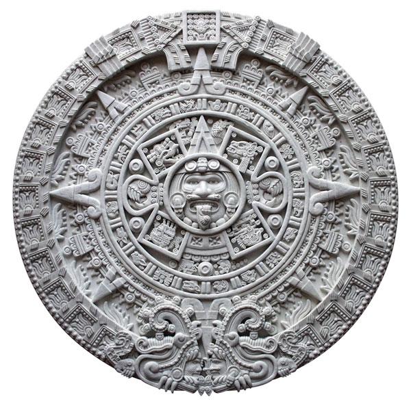 Aztec Calendar Drawing : Creating a sunstone model