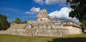 Pic 13: The Observatory ('El Caracol'), Chichén Itzá, Mexico
