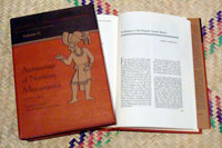 Pic 9: Volumes 10 and 11 of the Handbook of Middle American Indians